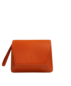 Lulu Clutch Orange